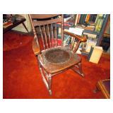 Living Room:  Vintage Rocker