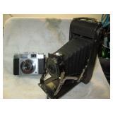 Living Room:  Cameras: Pocket Kodak #1 Series 2, Kodak Zeiss Contina 35mm