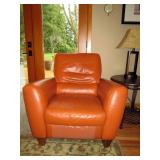 Family Room: Leather Chair