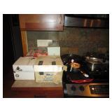 Kitchen: Mia Cucina Pasta Machine, Mid-Century Fondo Pot, Creme Brulee Burner