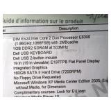 Upstairs 1st Left Bedroom Left: Dell Dimension E520 E6300