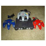 Upstairs 1st Left Bedroom Left: Nintendo 64 w/3 Controllers