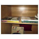 Upstairs 1st Left Bedroom Left: Star Trek & Star Wars Books, Guinness 2002