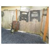 Back Deck Right Side: Wheel Barrel,