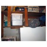 Garage: Cooler, Tent