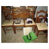 Garage: 4 Vintage Chairs