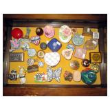 Large collection of pill and trinket boxes