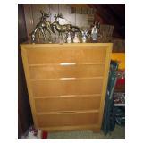 Mid-Century Dresser---Christmas Stuff