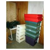 Christmas Storage Boxes---5 Drawers (Don