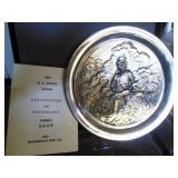 M. C. Wyeth  1972 Silver Platter #2609