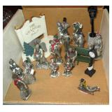 "Pewter ""The Villagers"" f\Figures"
