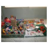Middle Bed Room Small Beanie Babies, Collectors Club