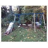 Backyard:  Swing set (As Is