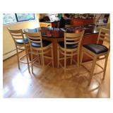 Kitchen:  4 Counter Chairs
