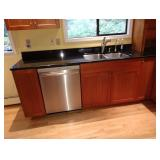 Kitchen: Bosch Dishwasher, Granite Counters, Stainless Sink, Cherrywood Cabinets
