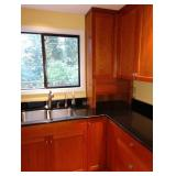 Kitchen:  Upper Cherrywood Cabinets