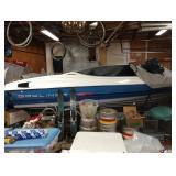 Garage: 1992 Bayliner Capri Ski Boat Merc cruiser 3.0