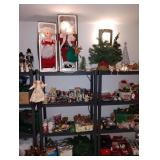 Basement:  Christmas Stuff