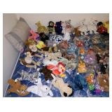 Upstairs 1st Bedroom Right:   Close up of the Dreaded Beanie Babies
