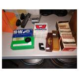 Garage:  Winchester Primers, 9mm Primers, Crosman 737,