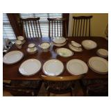 Dining Room:  Homer Laughlin China