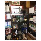 Kitchen:  Glasses, Vintage Pop Bottles, Old Lunch Box & Other Stuff