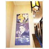 Stairway Down  Priscilla Presley Perfume Ad