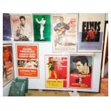 Up 1st Bedroom Right: Elvis Presley Movie Posters