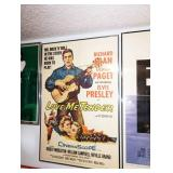 "Up 1st Bedroom Right:  ©1956 Vintage ""Love Me Tender"" Movie Poster"