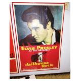 "Up 1st Bedroom Right:  ©1957 Vintage ""Jailhouse Rock"" Movie Poster"