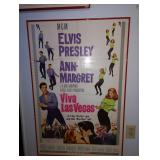 "Up 1st Bedroom Right: ©1964 Vintage ""Viva Las Vegas"" Movie Poster"