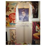 Up 1st Bedroom Right:  Priscilla Presley Perfume Silk Banner