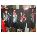 Up 1st Bedroom Right: Elvis T-Shirts All Different