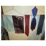 Up 1st Bedroom Right: Silk Scarves