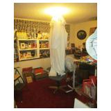 Down 1st Bedroom Right: 3 Rabbit Costumes,