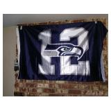 TV Room: Large #12 Flag