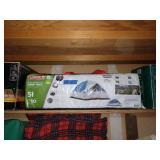 Garage:  Colman Arch Dome Tent