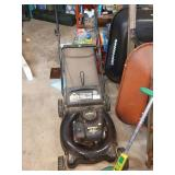 Garage:  Lawn Mower