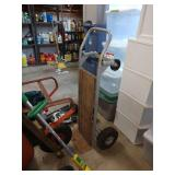 Garage: Hand Cart w/4 Wheels