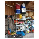 Garage:  Coolers, Chems