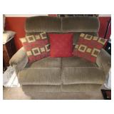 TV Room: Laz-E-Boy Double Seat Recliner--Excellent Condition