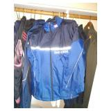 1st Bedroom Right: Skiing & Winter stuff, Boston Marathon 2002, 2005 Windbreakers, Raincoats