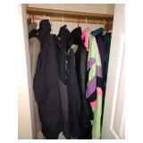 Hallway Closet:  Nice Coats
