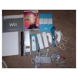 TV Room: Wii w/attachments & Software