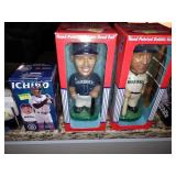 "Dining Room:  Ichiro Nesting Dolls,  Bobble Heads-Ichiro Suzuki & Edgar Martinez, and ""The Force."