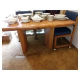 Kitchen/Dining Room:  Princess China Sweet Briar Table w/4 Chairs