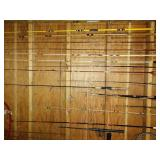 Basement: Fishing Poles-(Most have problems)