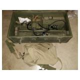 Living Room: World War ll, Mine Detector Set, AN/PR5-1, April 15-1944 Search for buried treasure