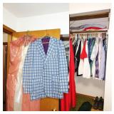 1st Bedroom Right:Raise your sights men.This is Sports Coat is in great shape.Reunion Parties ready