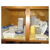 Basement: More Plastic Containers
